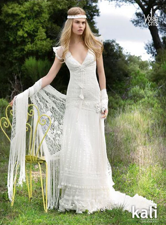 Hippie Chic Wedding Dresses : Bohemian style wedding dresses australia of bridesmaid