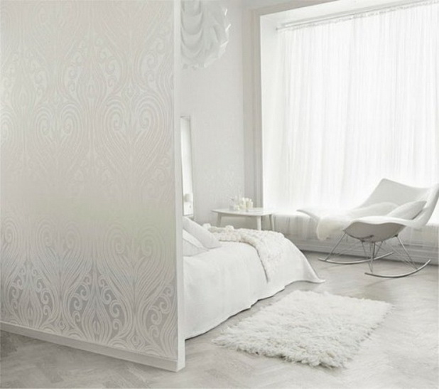Peaceful white bedroom designs for life and style for Peaceful bedroom designs