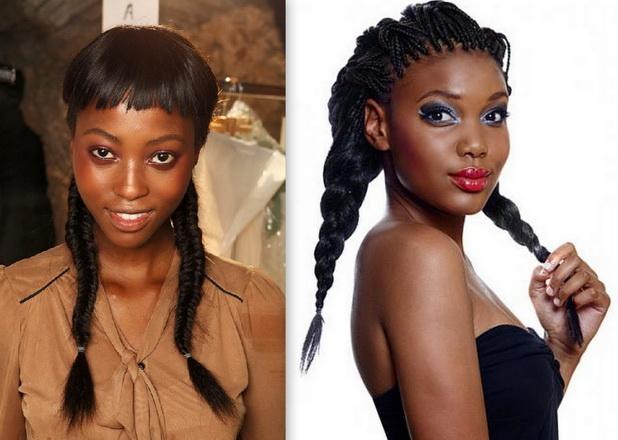 Jumbo braided hairstyles for black women