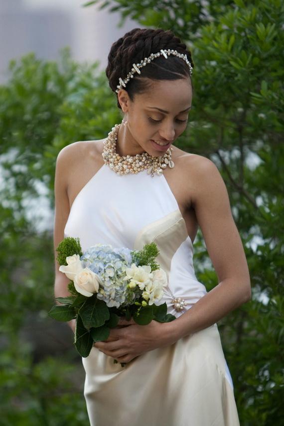 glamorous wedding hairstyles for black women for life