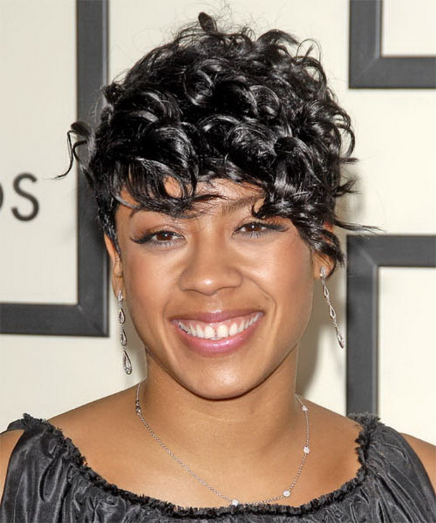 Keyshia Cole Short Black Hairstyles