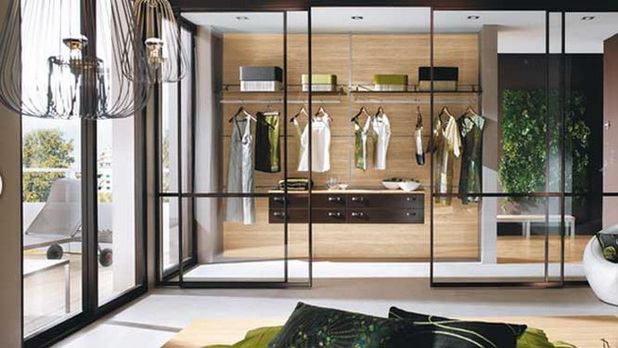very stylish yet very practical dressing room designs by mobalpa for life and style. Black Bedroom Furniture Sets. Home Design Ideas