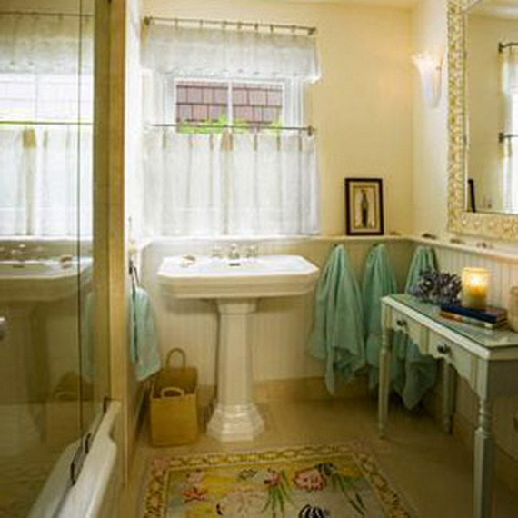 Modern bathroom window curtain ideas for life and style for Bathroom window curtains