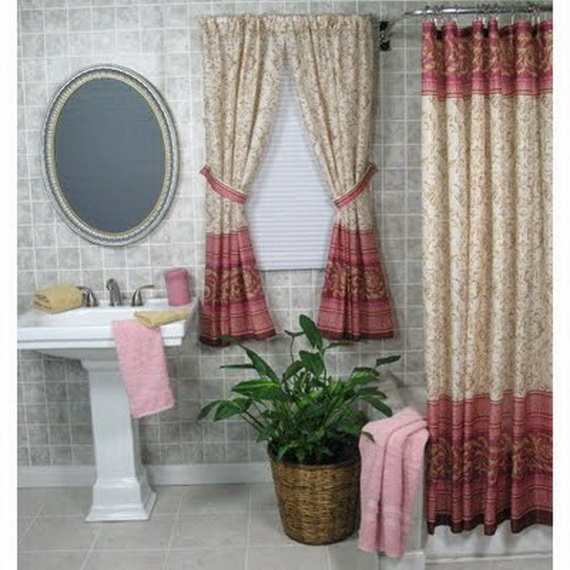 Http Www Forlifeandstyle Com Modern Bathroom Window Curtain Ideas
