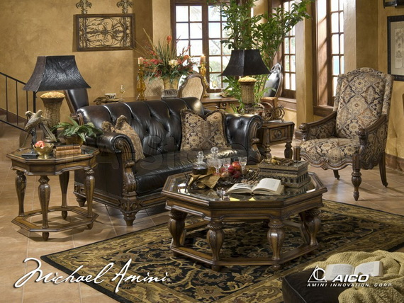 Classic Living Room Furniture from Aico - for life and style